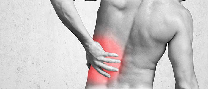 Chiropractic Charlotte NC Man Back Pain