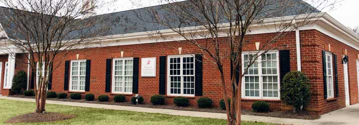 Chiropractic Charlotte NC Office Building
