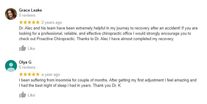 Chiropractic Charlotte NC Testimonials Twenty Seven